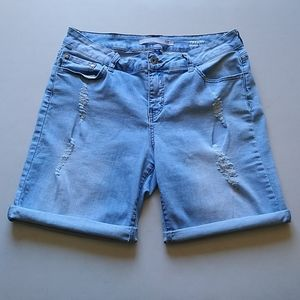 !iT Bermuda Jean Shorts